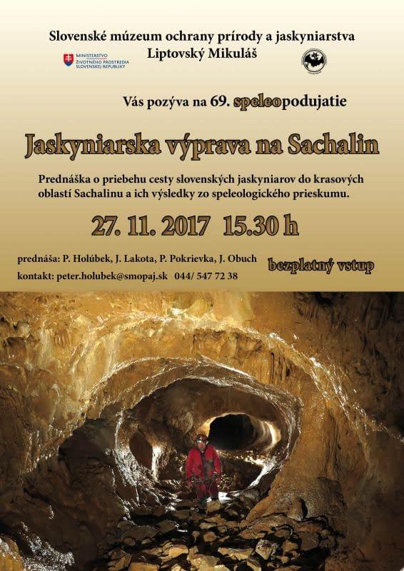 69. SpeleoPodujatie – Jaskyniarska výprava na Sachalin