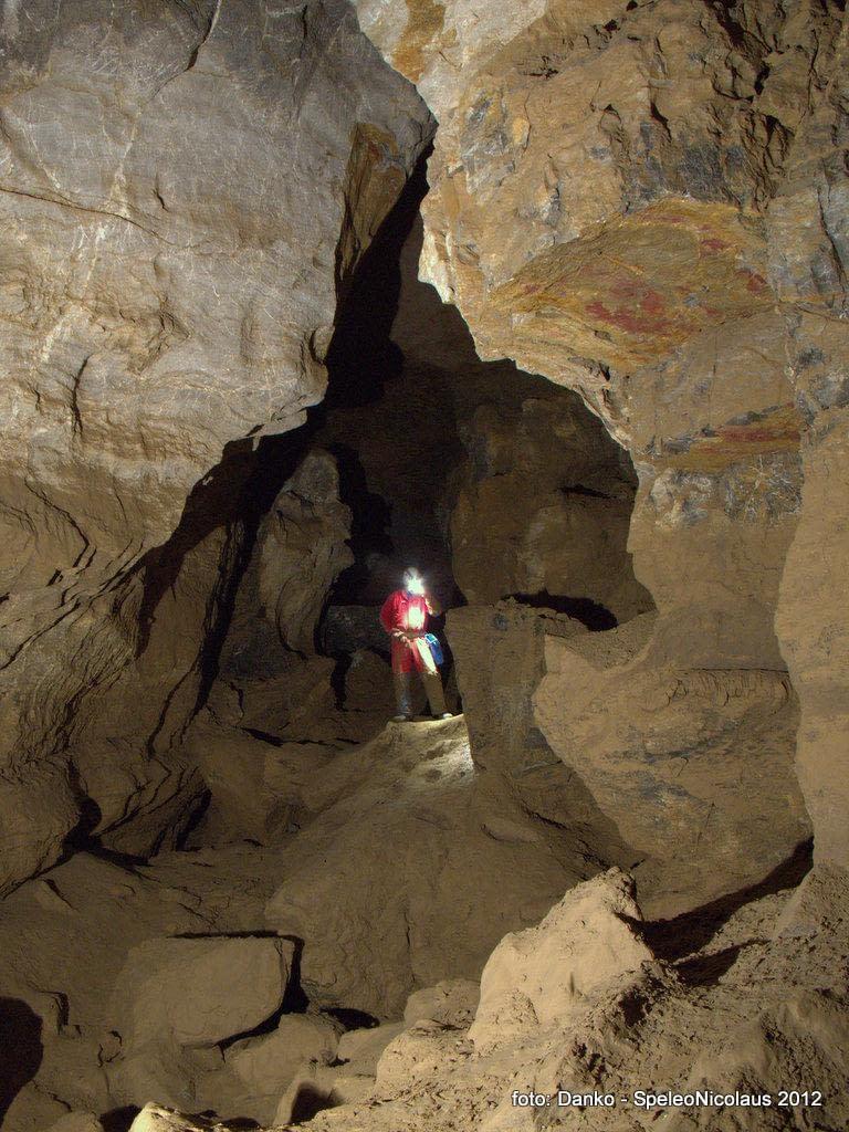 Návšteva koncových častí Novej Stanišovskej jaskyne