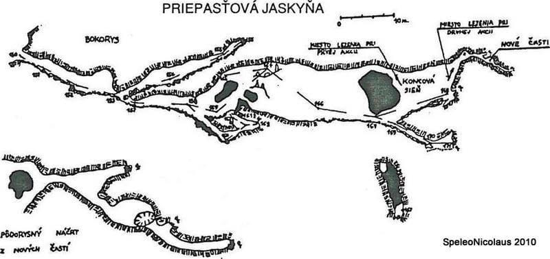 Speleoalpinistický prieskum v Priepasťovitej jaskyni v Jánskej doline