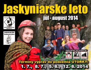 Jaskyniarske leto 2014