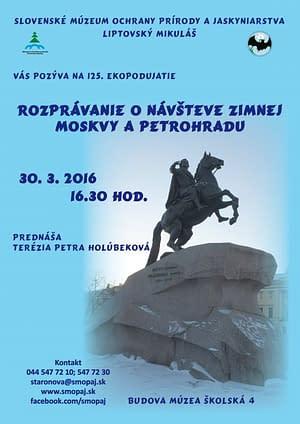 Rozprávanie o návšteve zimnej Moskvy a Petrohradu