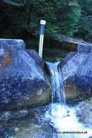 Voda v Stanišovskej dolinke
