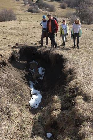 Zanikla jaskyňa pri Liptovských Beharovciach