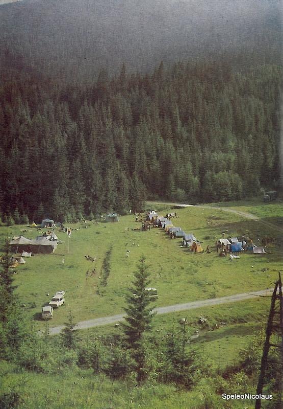 Jaskyniarsky týždeň Jánska dolina '80
