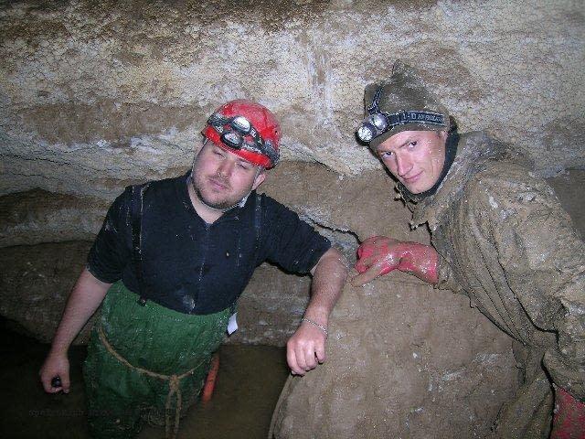 Jaskyňa Zlomísk – čerpací pokus